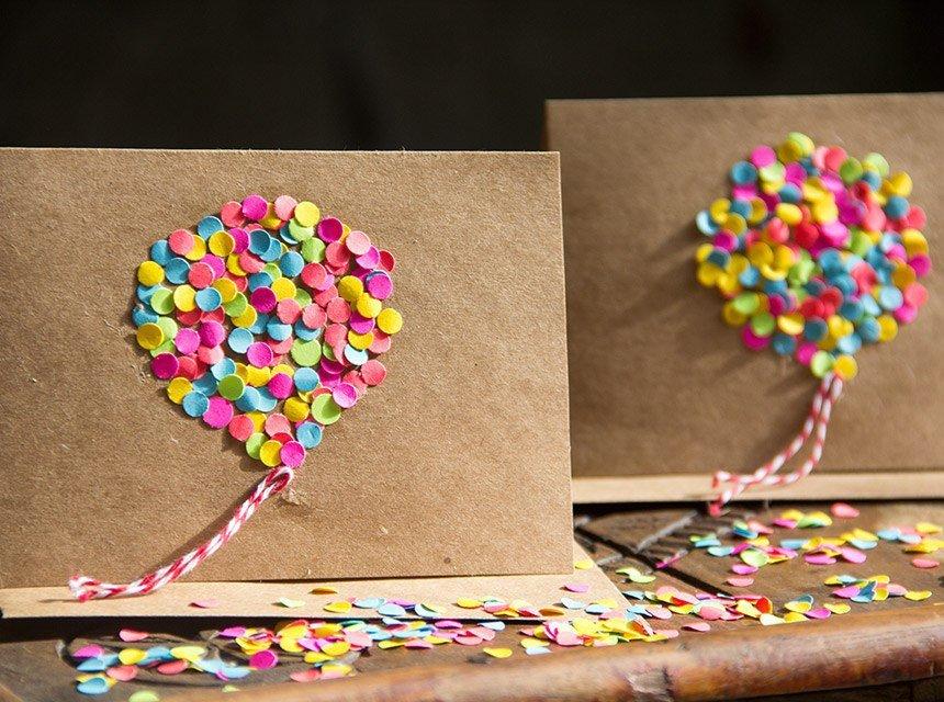 Открытка с конфетами внутри своими руками, надписью