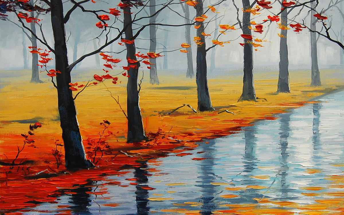 Осень крутые рисунки