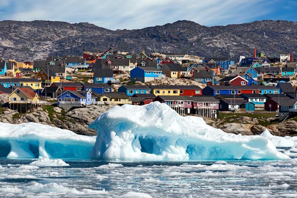 Гренландия столица кажется