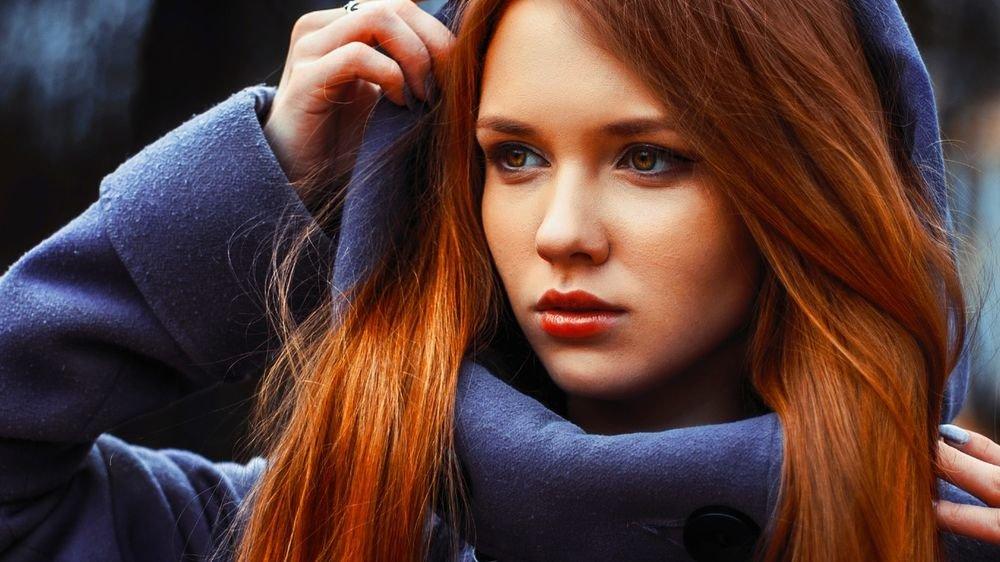 наши сексуальные фотографии красивых девушек рыжих кавалера