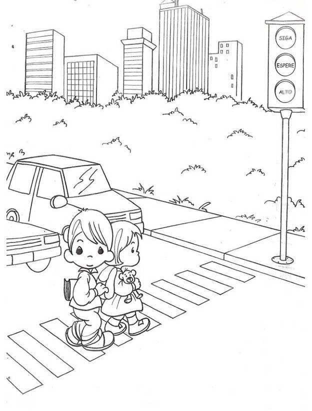 Правила дорожного движения для детей рисунки