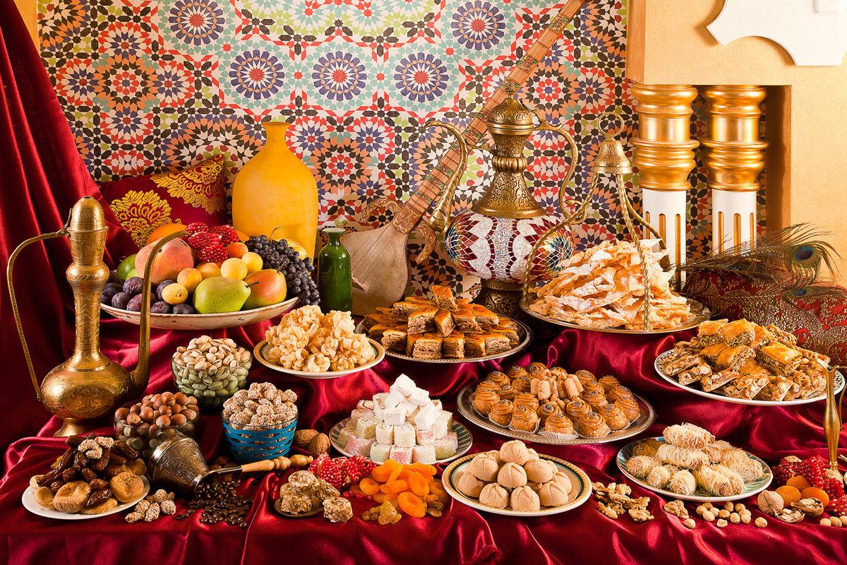 Днем имени, день восточных сладостей открытка