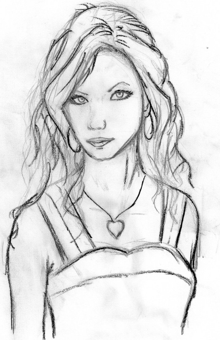 Cool Pictures Of Girls Faces To Draw Face Page 22 Pencil Art Drawing