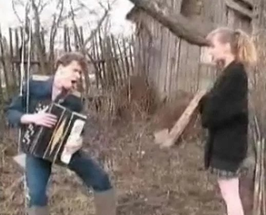 секс в русской деревне любительский видео