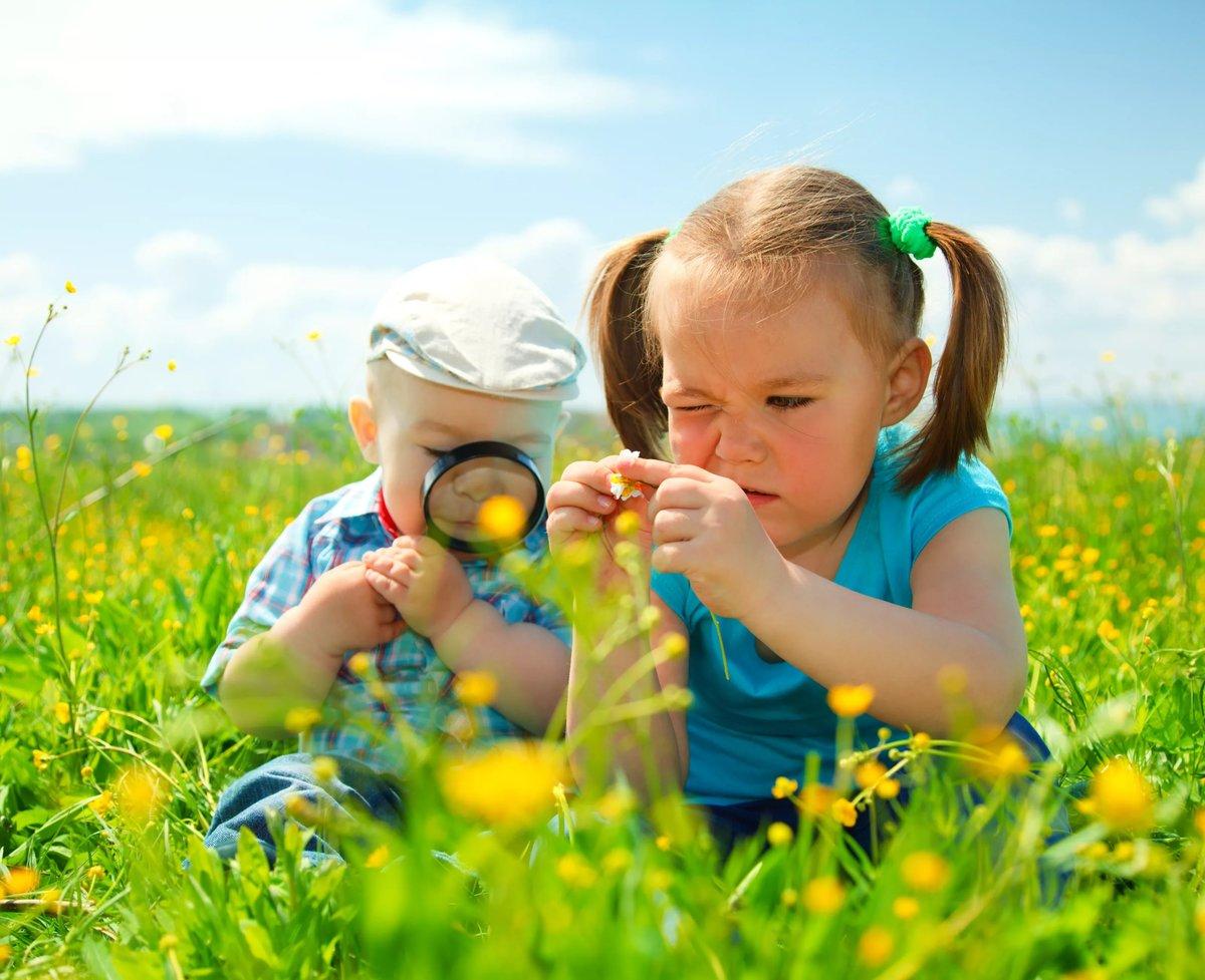 Пожеланиями новый, картинки лето с детьми