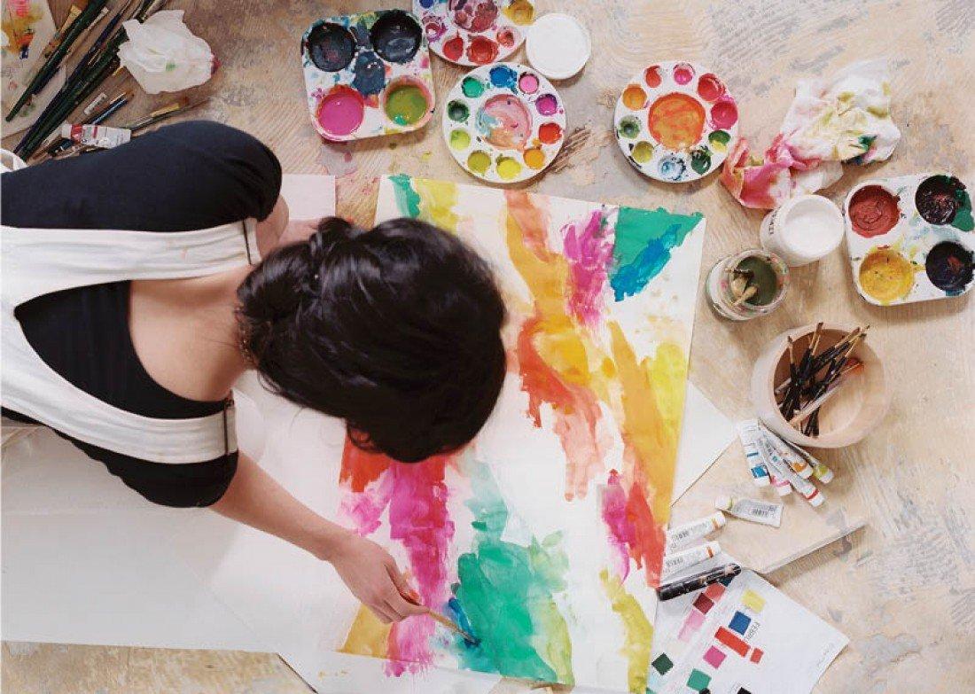 Психология в картинках или сам себе художника