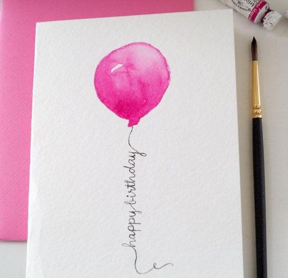 Как рисовать открытку подруге