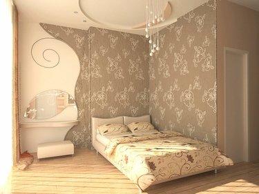 30 карточек в коллекции интерьер спальни с обоями пользователя