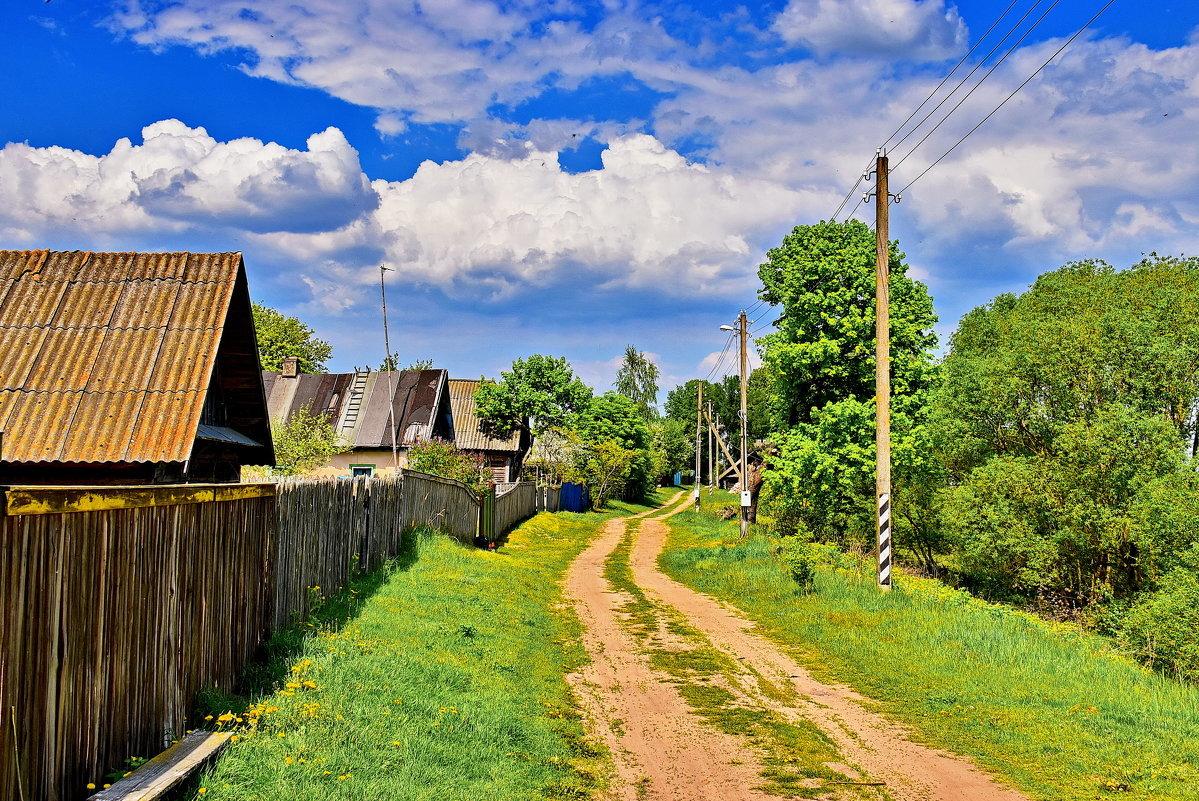 Годовщиной, деревня картинки красивые