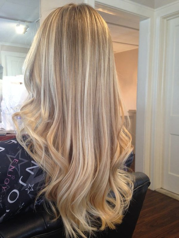 картинки покраски волос в светлые цвета используя для