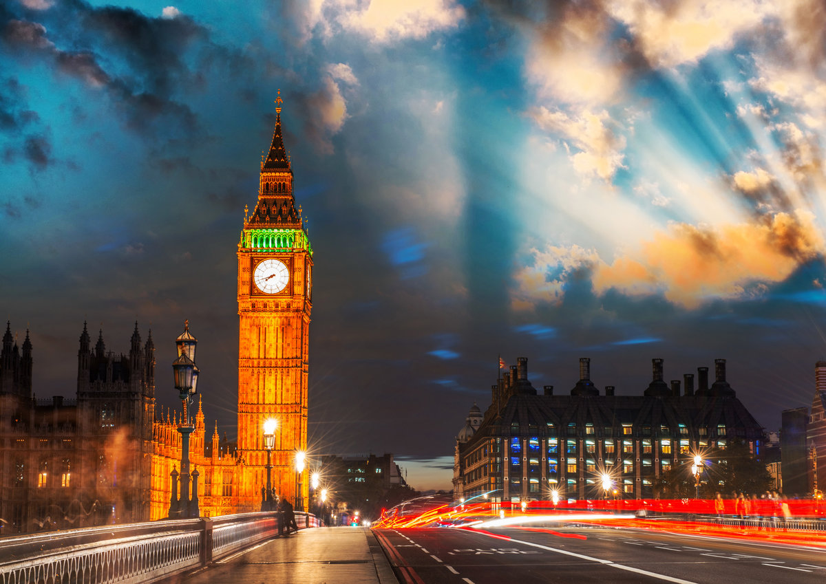 Анимация картинки лондон