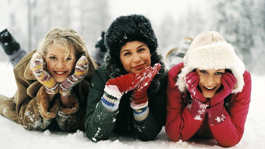 зимние фотосессии на улице с подругами секрет, что