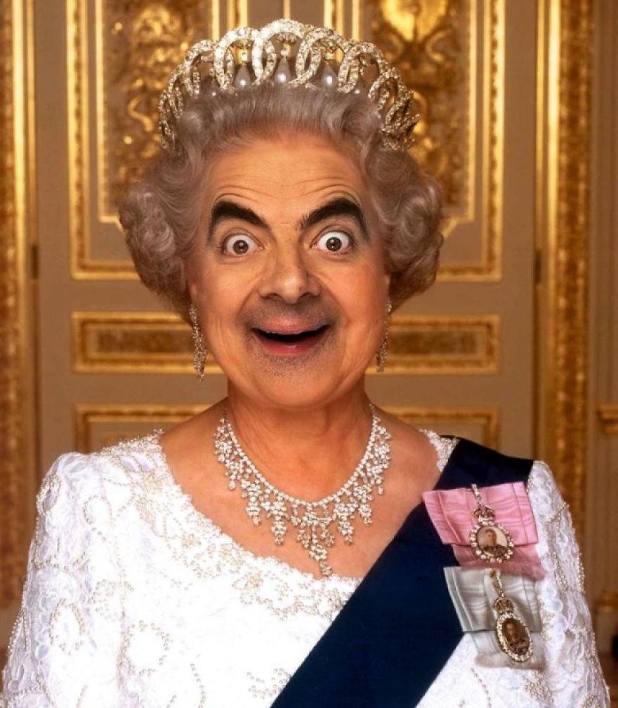 Веселые картинки про королев