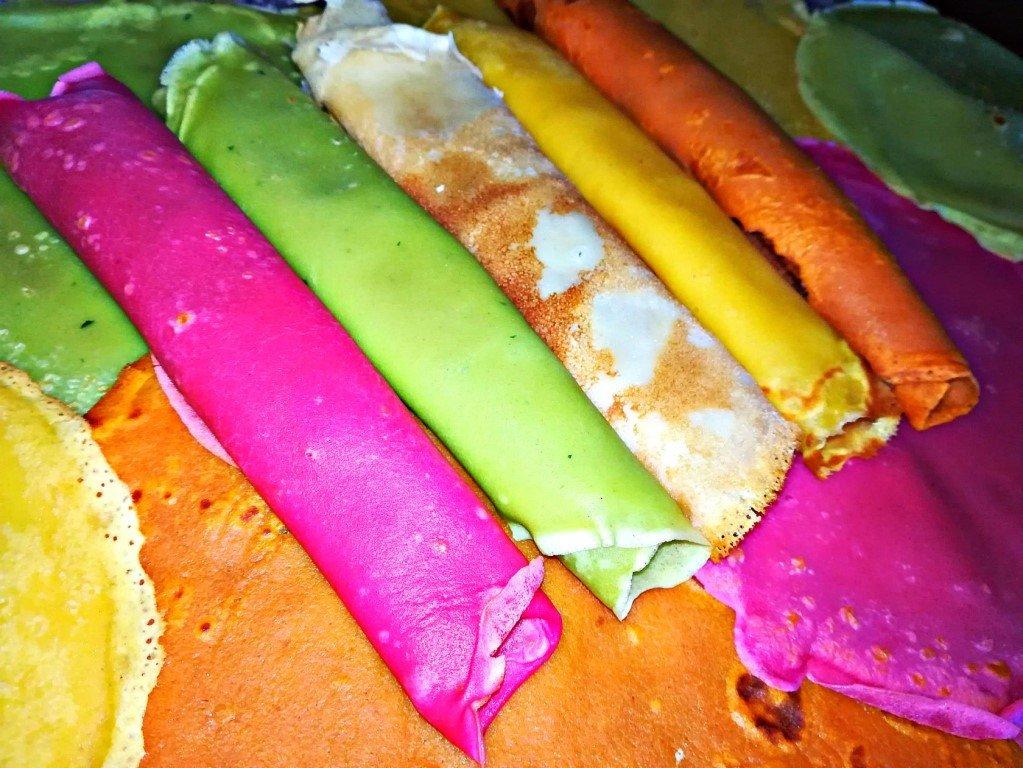 рецепты начинок для разноцветных блинчиков фото
