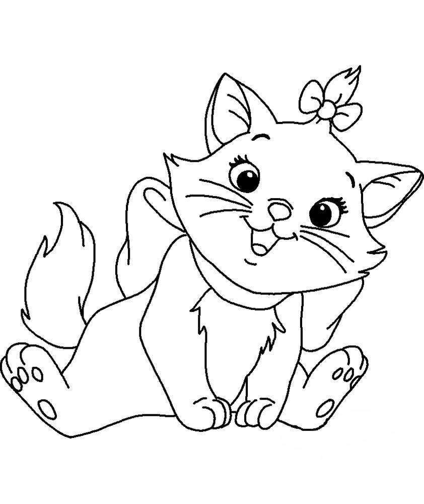 Рисунки кошек для детей 10 лет