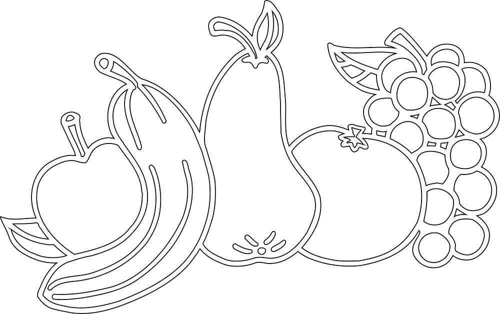 уверены, шаблоны картинок для вырезания из бумаги распечатать фрукты разберемся