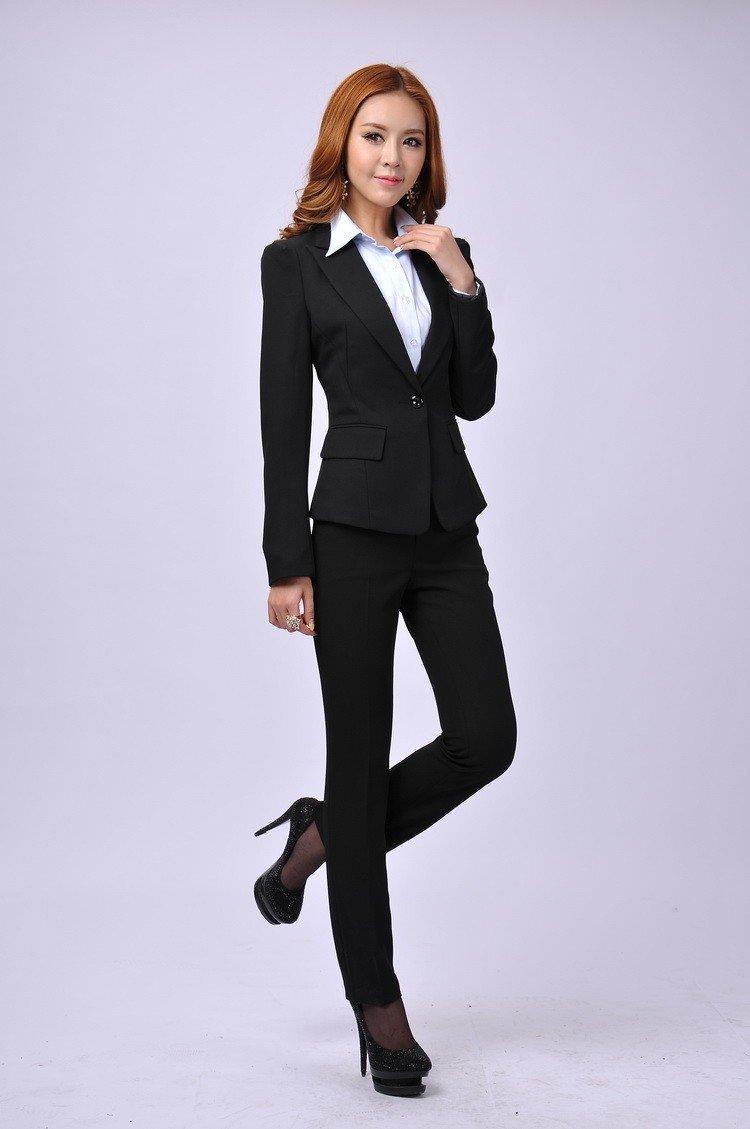 теперь бизнес леди в брюках было так