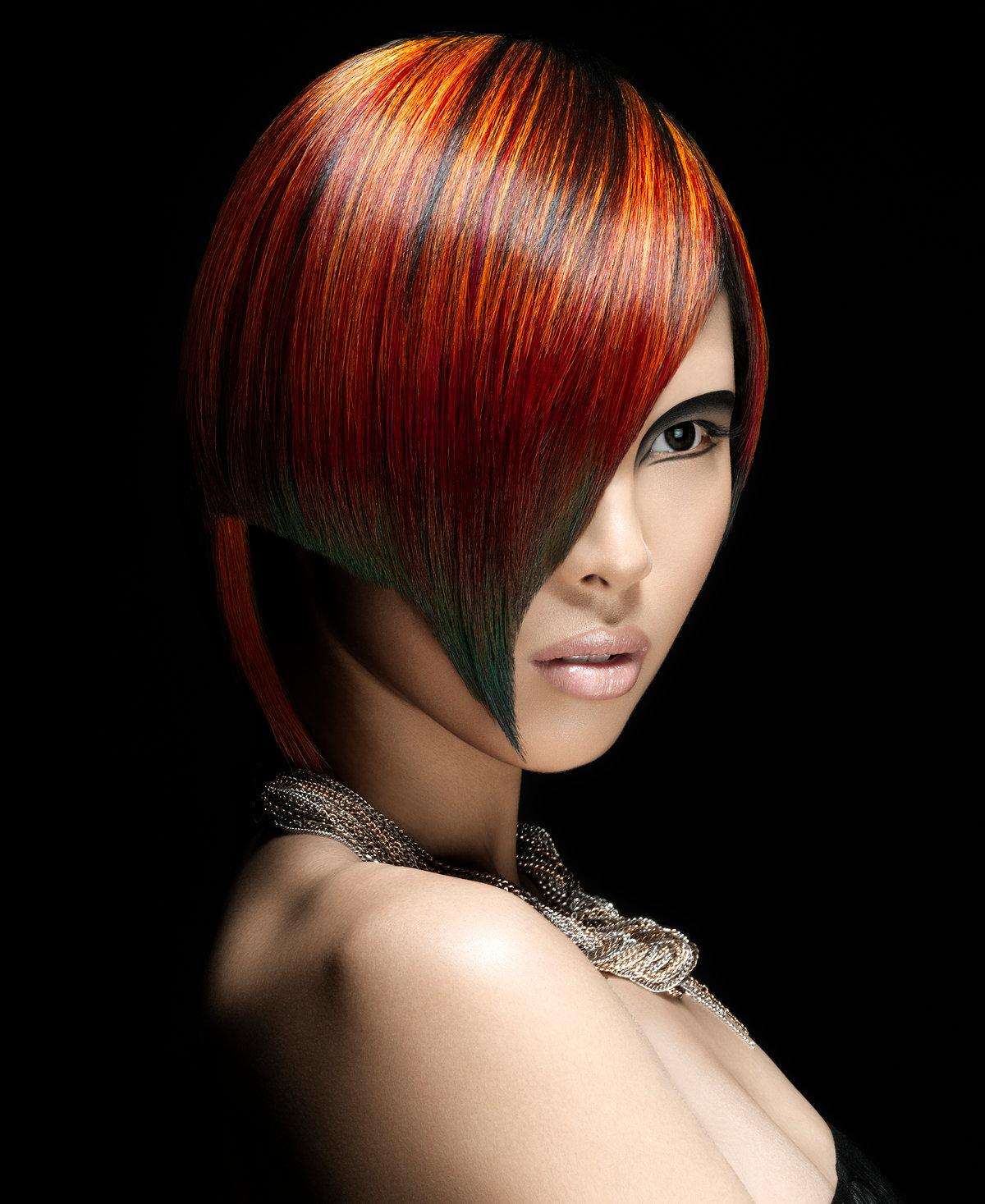 сверху колорирование волос идеи фото думаю просто