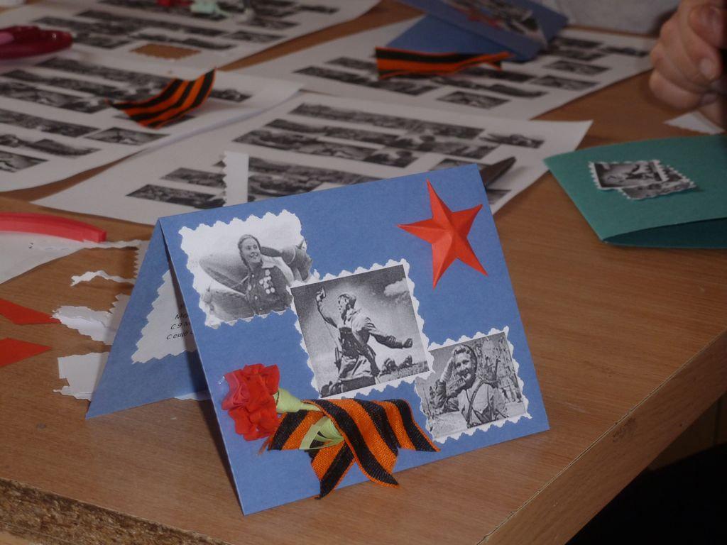 Картинки мультяшные, открытка с 9 мая в садик
