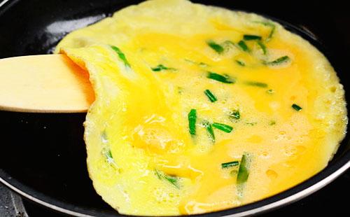Как готовить омлет фото рецепт #9