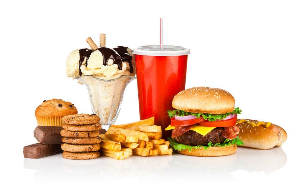Картинки вредная пища, покупки