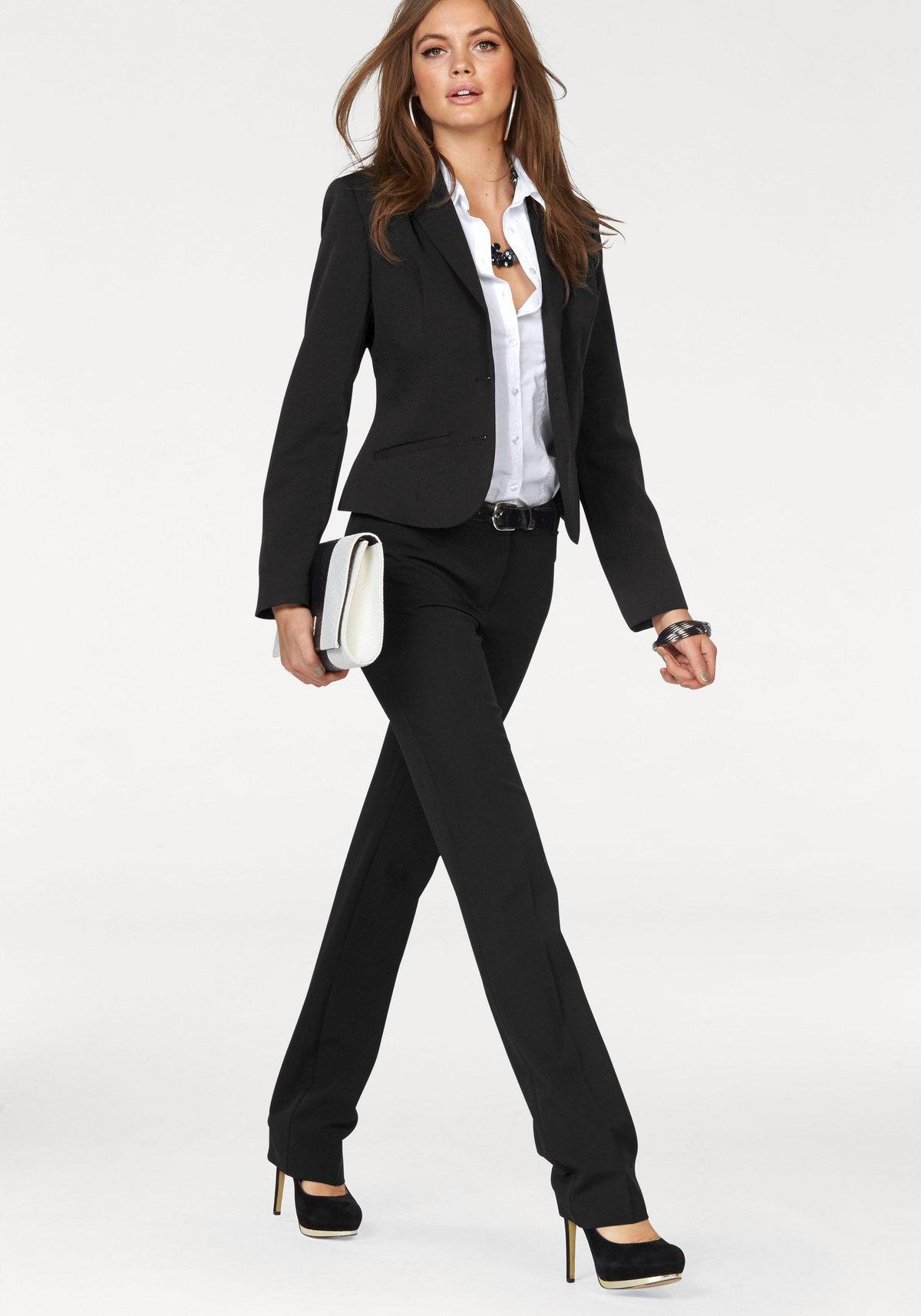 бизнес леди в брюках только
