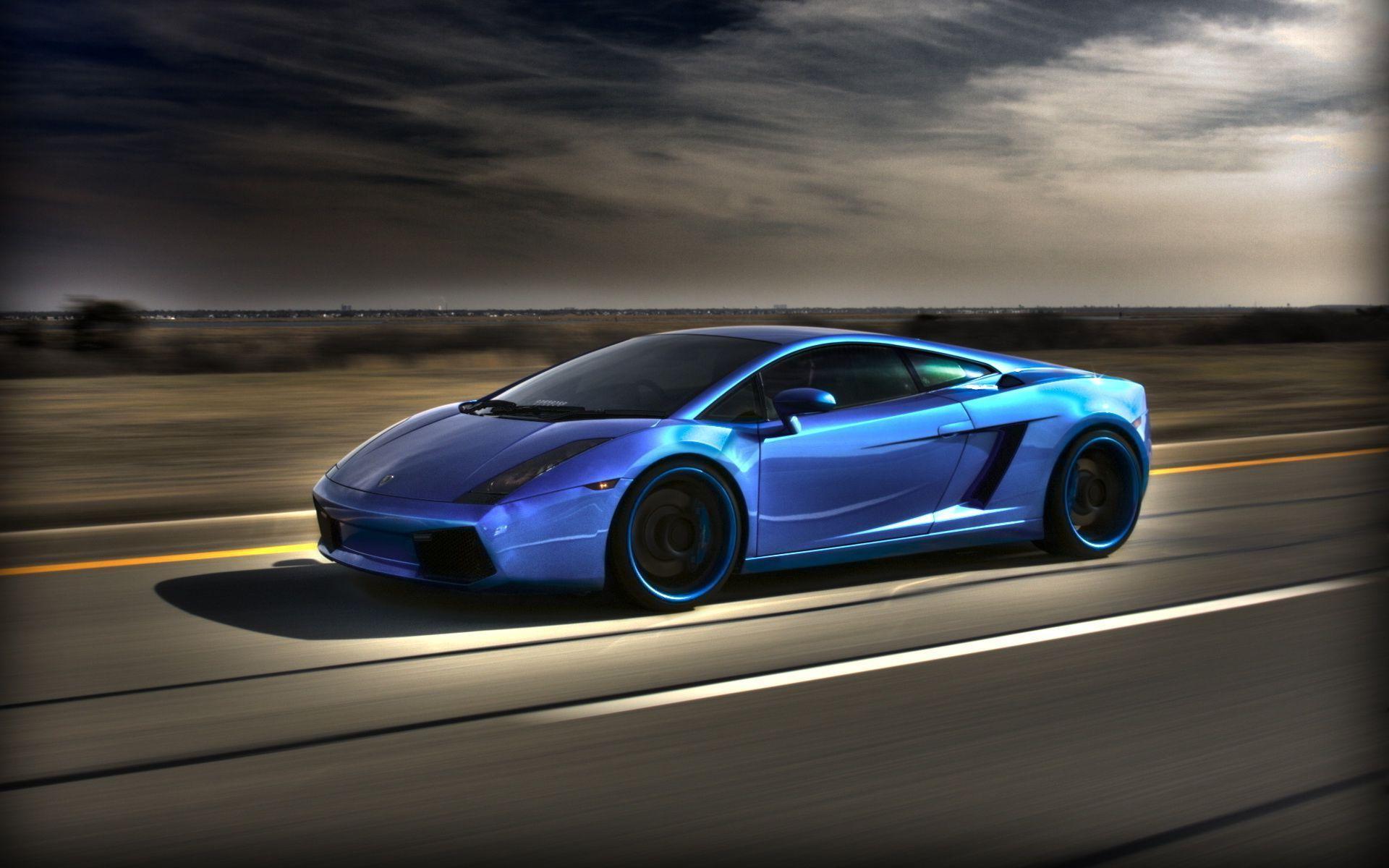 Lamborghini Gallardo Blue Wallpaper 1920x1200 15221 Card From