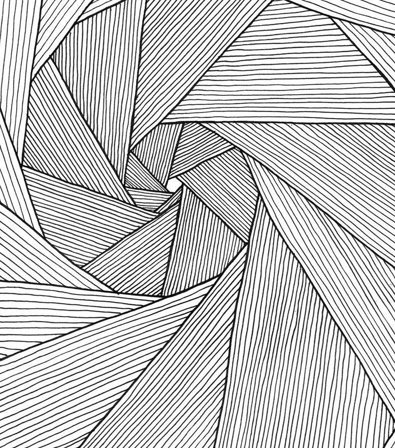 никак, картинки графическую линию дизайн, узнаваемый стиль
