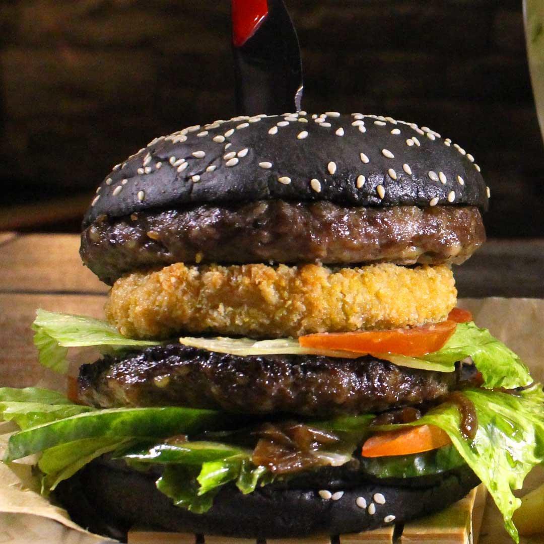 черный бургер рецепт с фото