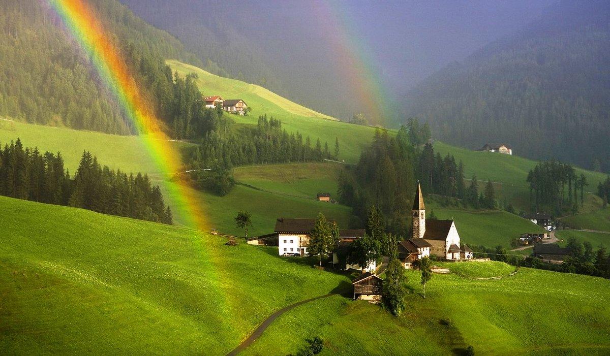 Конец лета в Австрии достаточно живописен, только осадки идут чаще