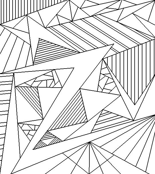 хладнокровны, рисунок прямыми линиями картинки вместе