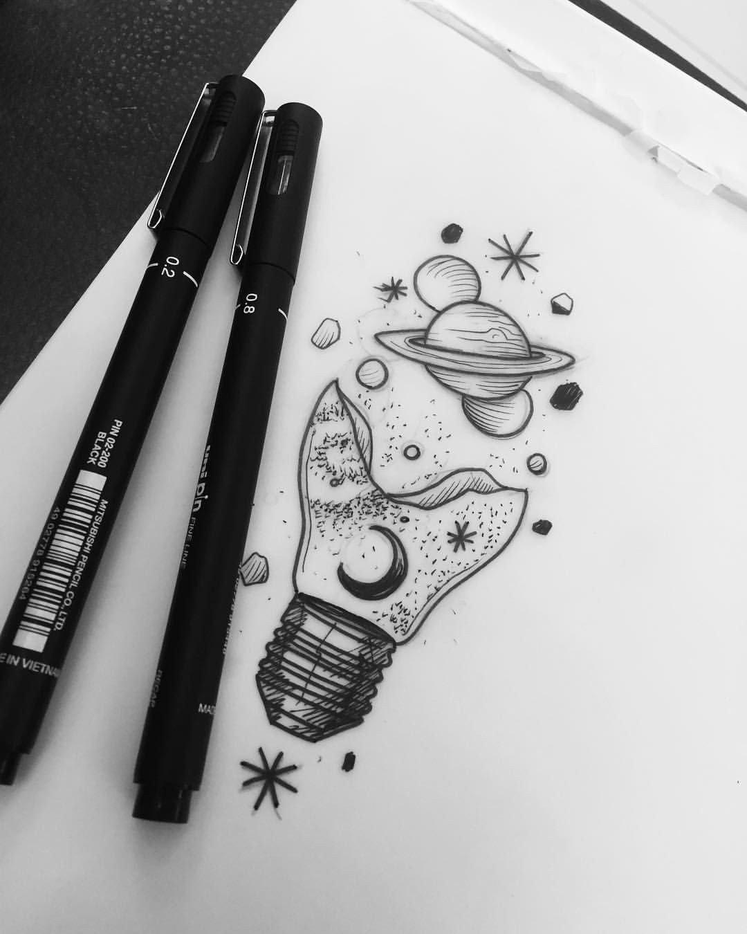 Крещением, крутые картинки нарисованные черной ручкой