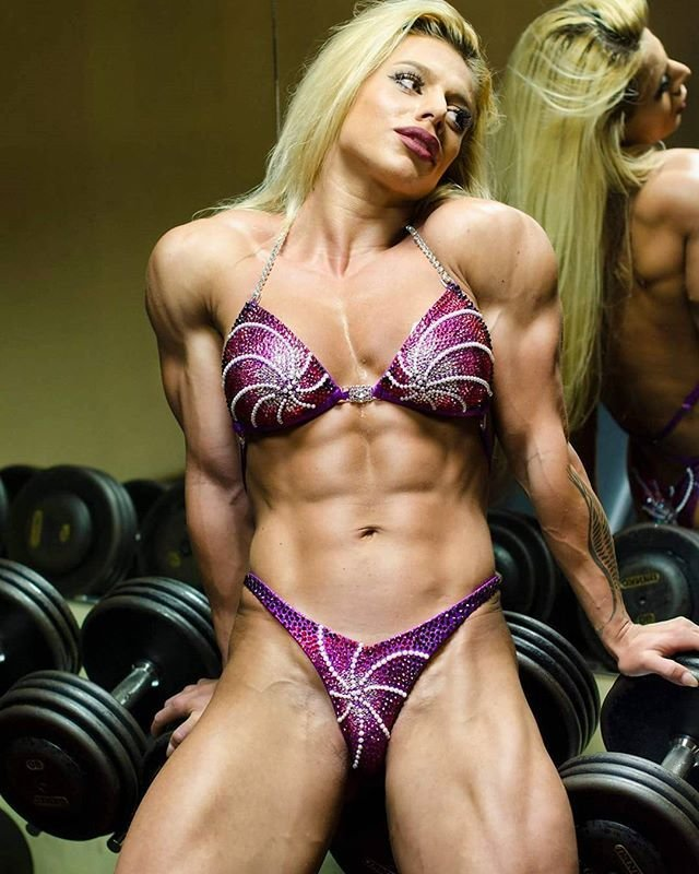 Muscular development girls #14