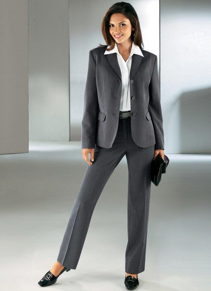 бизнес леди в брюках взять