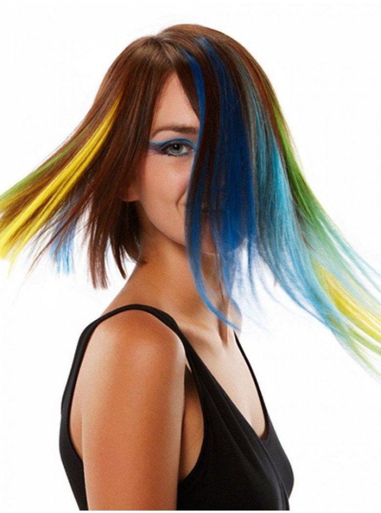 Фоторедактор с эффектом окрашивания волос