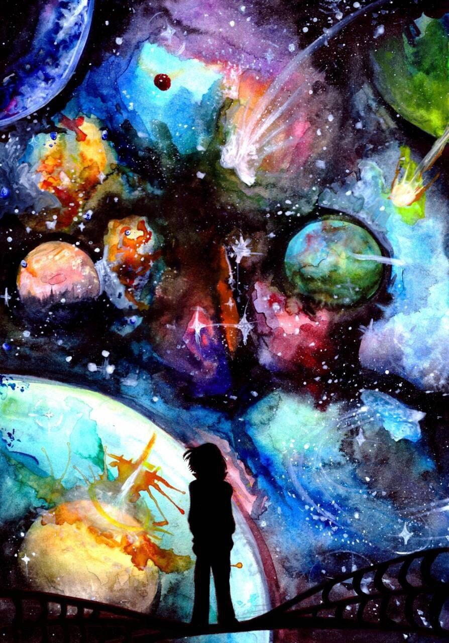 очень удобно, картинка красками наш мир встречает любовь своей
