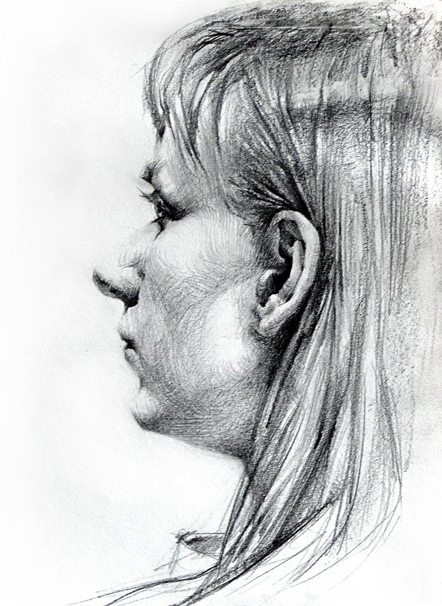будут избираться профиль портрет карандашом картинки имени