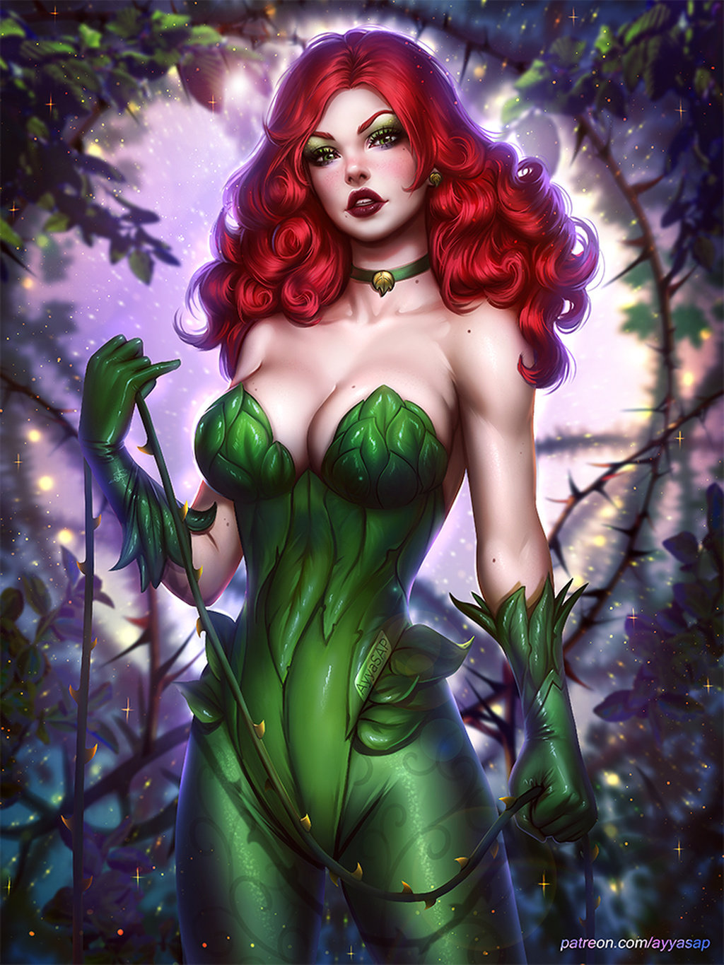 Nude Poison Ivy