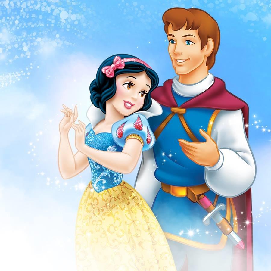 Сказочные картинки принц и принцесса