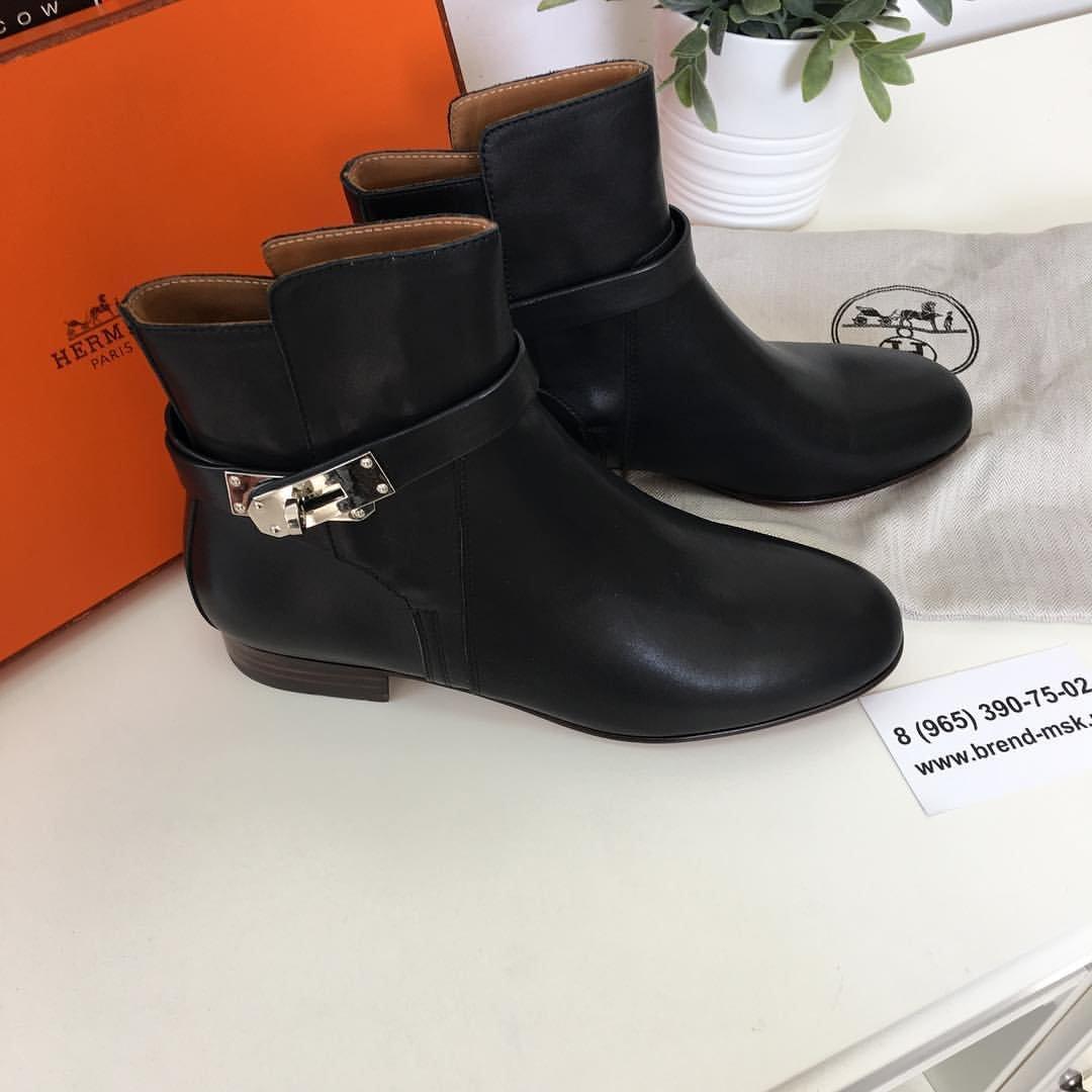 85b225a64caa Ботинки Hermes женские. Женские ботинки hermes копия осень демисезонные Сайт  производителя... http