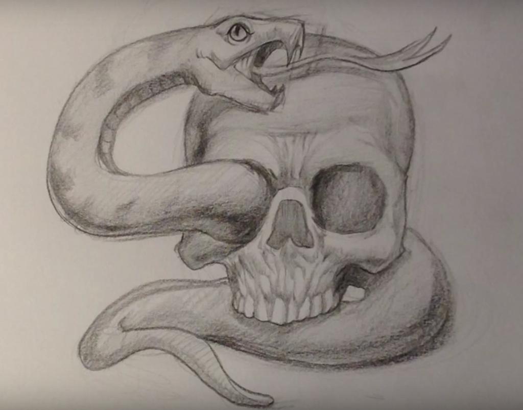 Крутые рисунки карандашом для начинающих