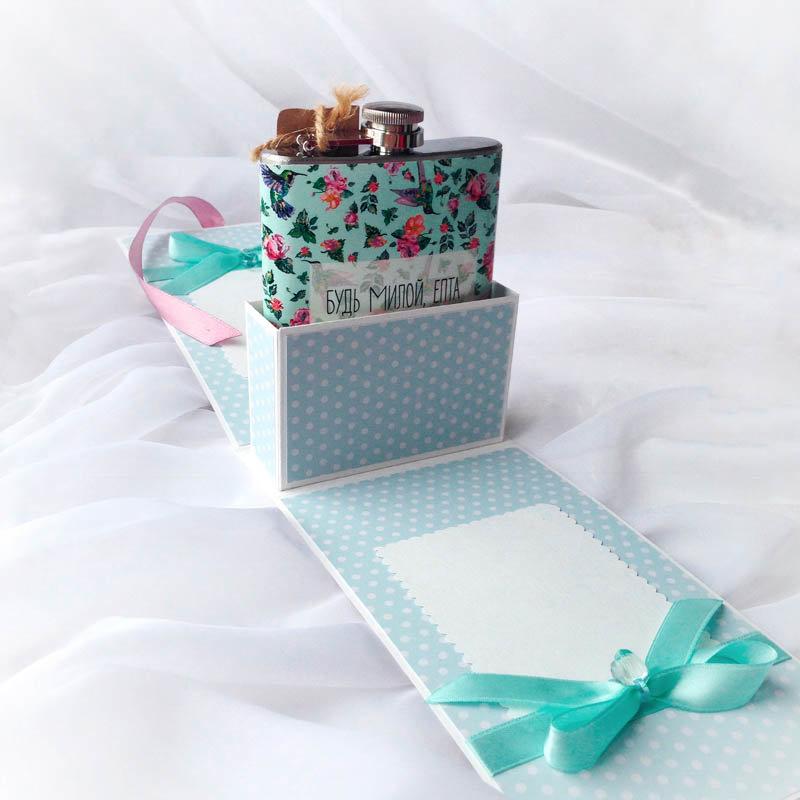 коробочки для подарков скрапбукинг фото команда