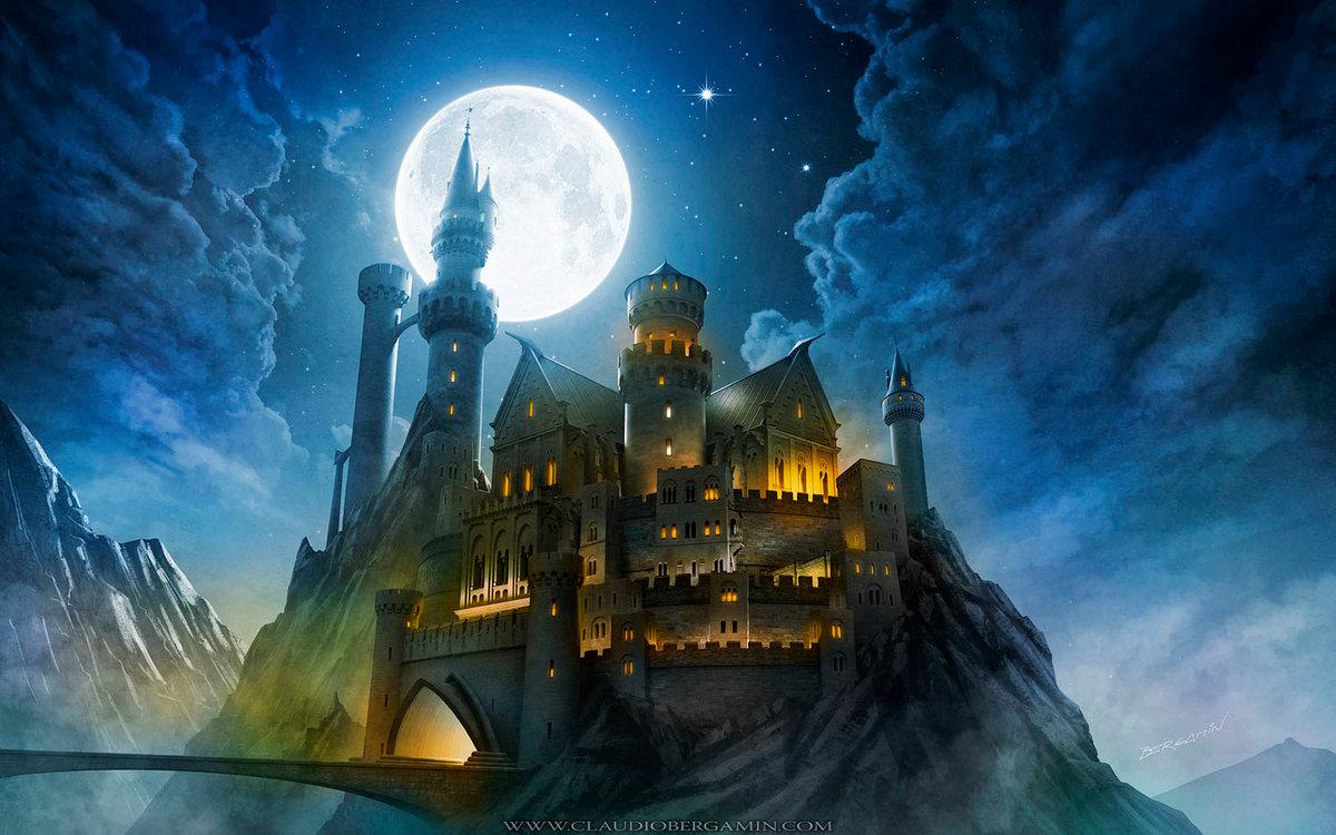 замок ведьм картинки виниры для красивой