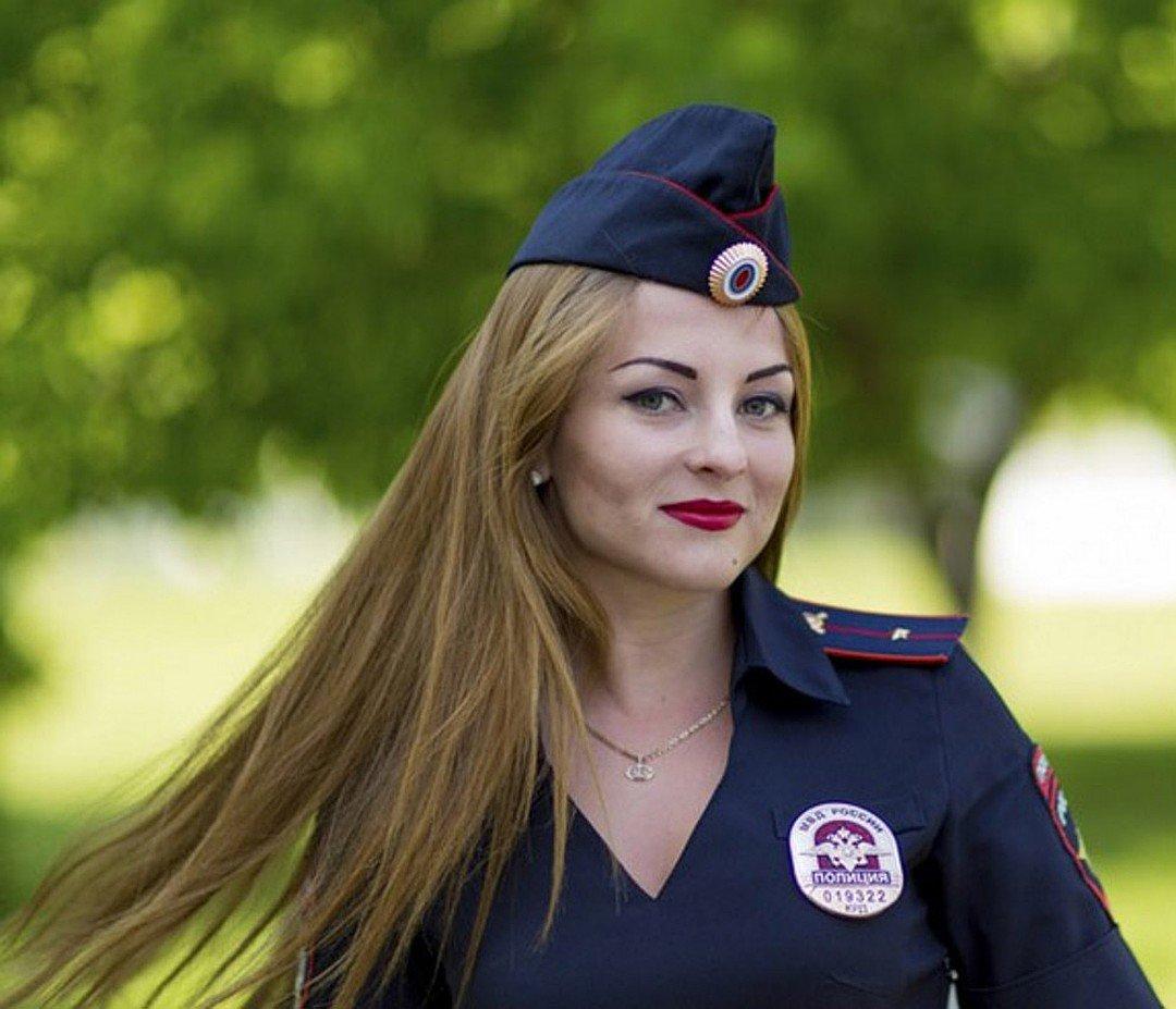 Фото красивых милиционерш — 13