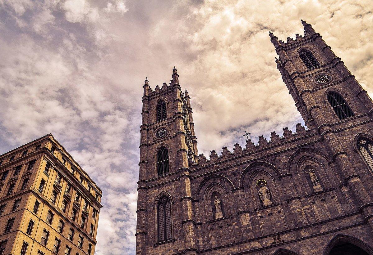 базилика нотр-дам де монреаль канада фото