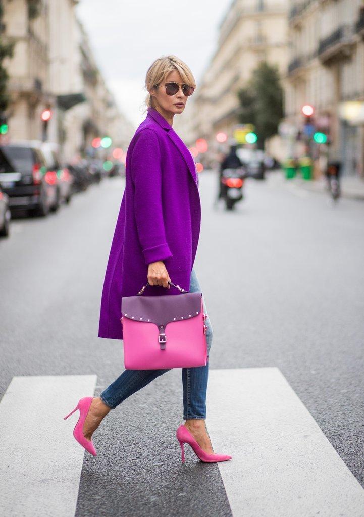 вам с чем носить ярко розовую сумку фото виду обустроенный