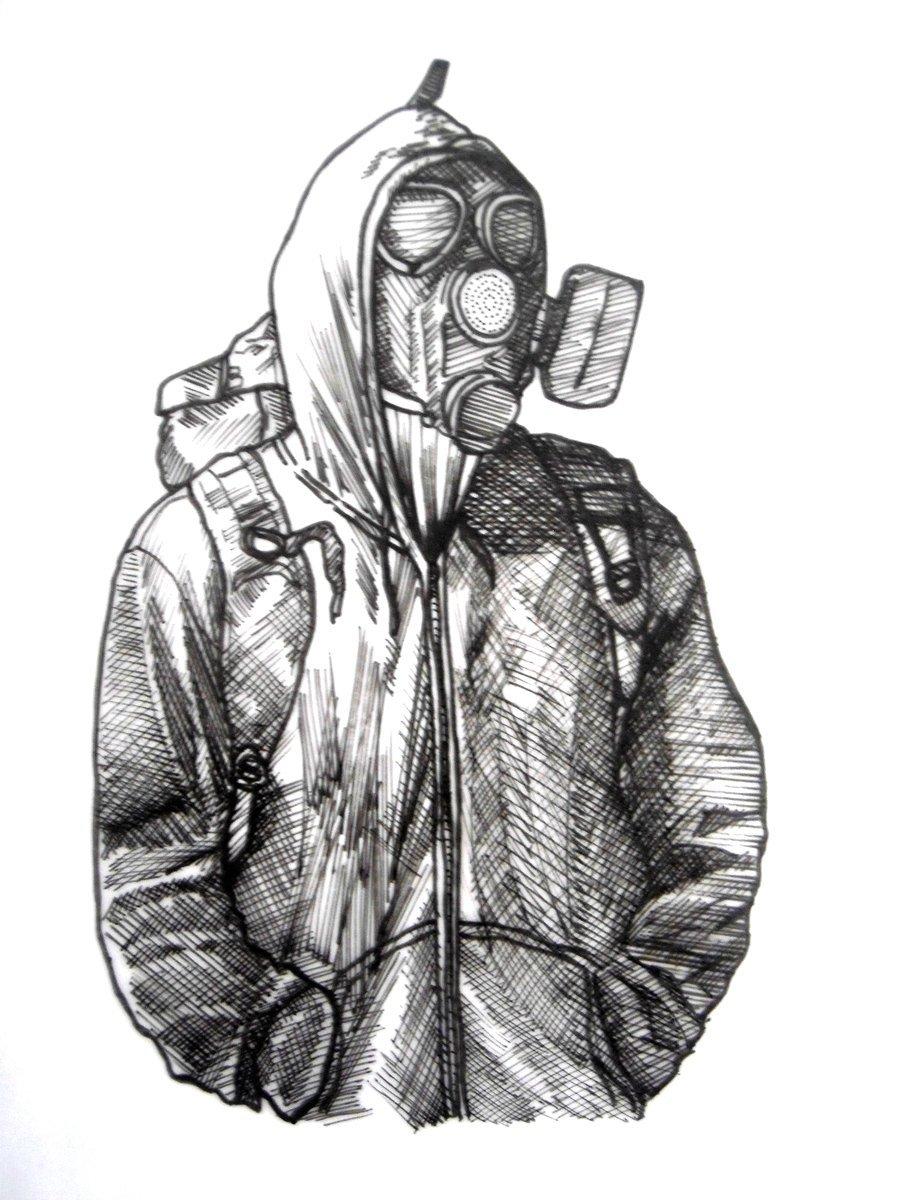 Картинки метро 2033 карандашом для срисовки, кандидатом
