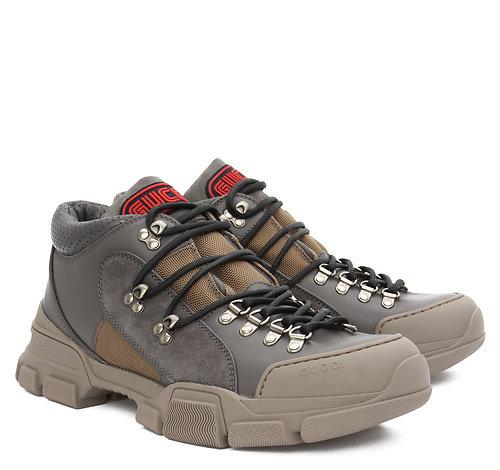 ee5a29fd38ab Кроссовки Rhyton Gucci logo leather sneaker. In     Подробнее по ссылке.
