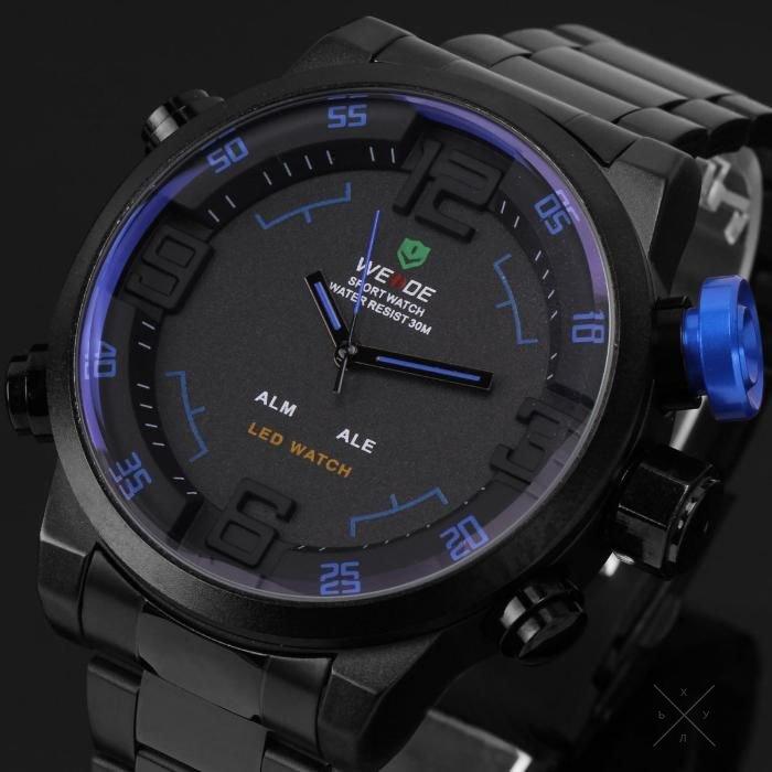 Мужские стильные часы weide w 2  в дополнении к этому, наше предложение выгодно отличается от конкурентов, что позволяет сокращать затраты на рекламу и продвижение продукции.