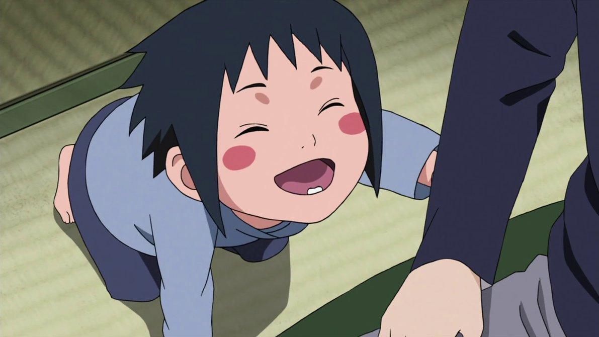 Baby Sasuke Wants To Pway By Fu Reiji On Deviantart Card From